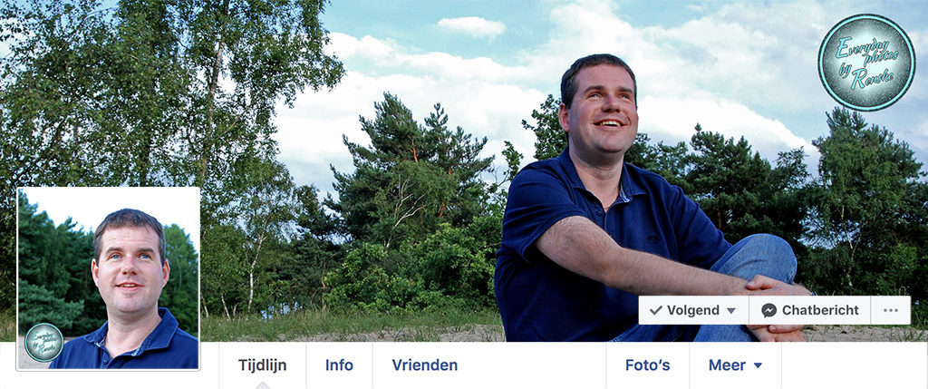 Profiel/ Social media fotografie