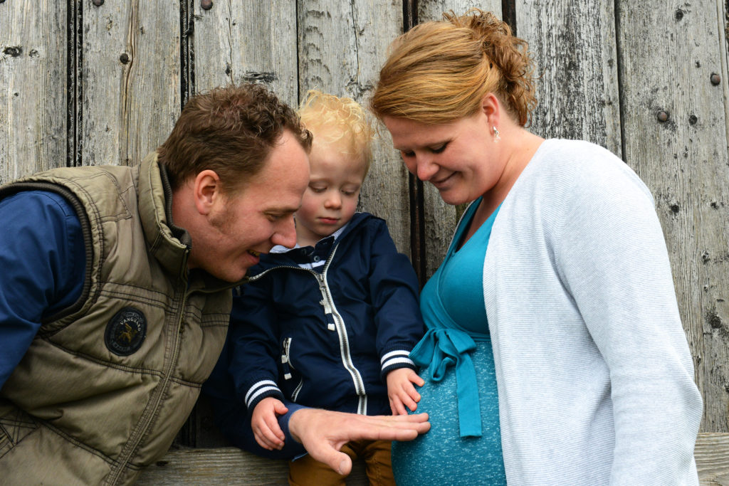 Outdoor zwangerschaps fotoshoot